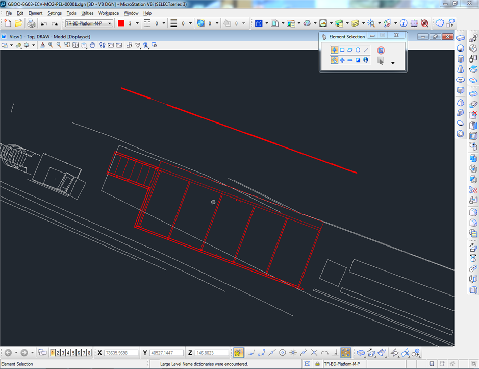Drawing Lines In Microstation : Top view changes between drawings microstation forum