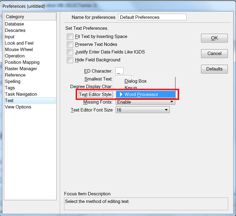 how to create a hierachy on word prrocessor