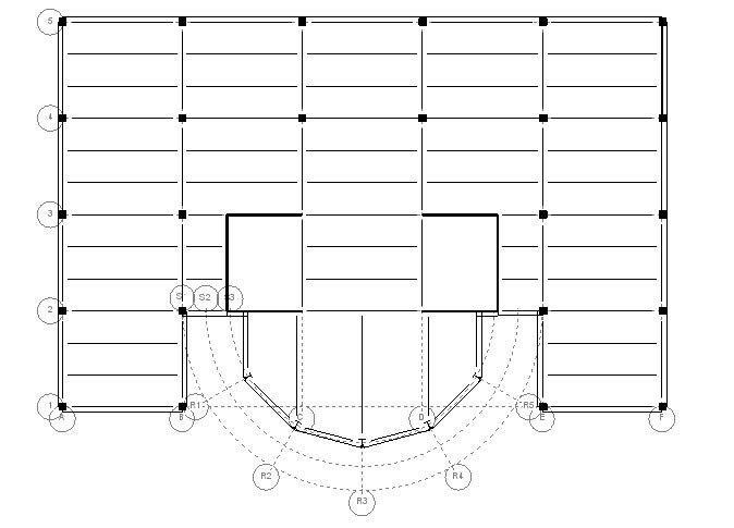 Image result for structural grid plan diagram