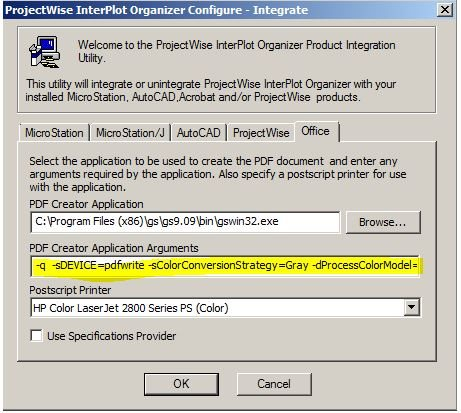 How To Grayscale Office Document Renditions Using Ics For