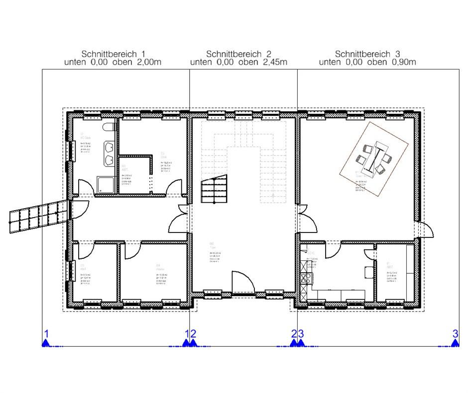 horizontale schnitth he mit h henbegrenzung aecosim. Black Bedroom Furniture Sets. Home Design Ideas